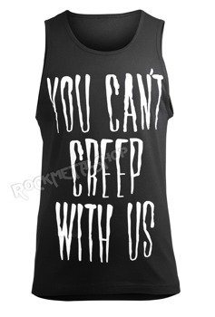 koszulka na ramiączkach  BLACK CRAFT - YOU CANT CREEP WITH US