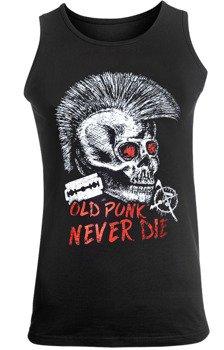 koszulka na ramiączkach OLD PUNK NEVER DIE