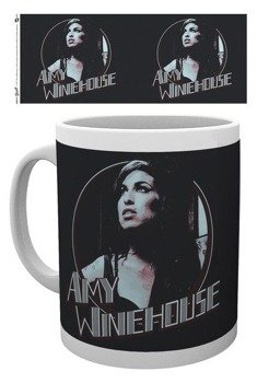 kubek AMY WINEHOUSE - RETRO BADGE