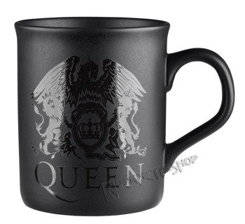 kubek QUEEN - CREST BLACK MATT