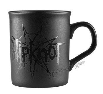 kubek SLIPKNOT - LOGO STAR BLACK MATT
