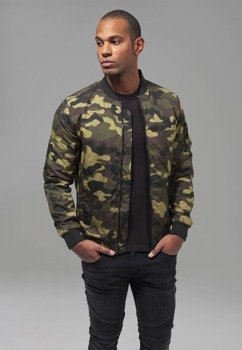 kurtka flyers LIGHT CAMO BOMBER woodcamo