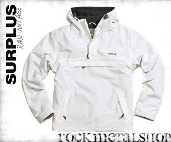 kurtka kangurka Windbreaker white