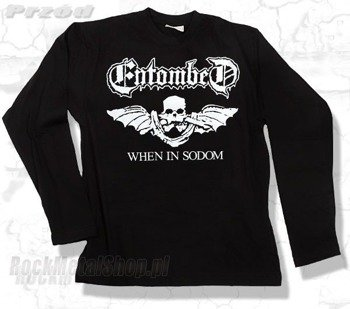 longsleeve ENTOMBED - WHEN IN SODOM
