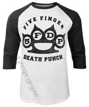 longsleeve FIVE FINGER DEATH PUNCH - KNUCKLES, rękaw 3/4
