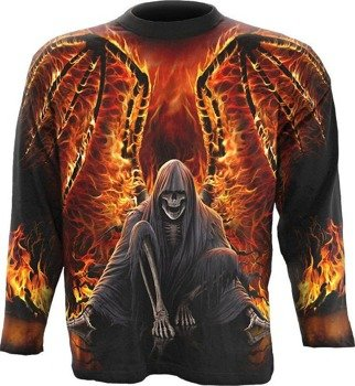 longsleeve FLAMING DEATH