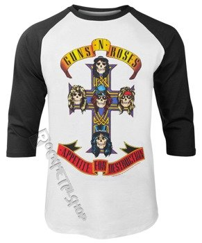 longsleeve GUNS N' ROSES - APPETITE FOR DESTRUCTION rękaw 3/4