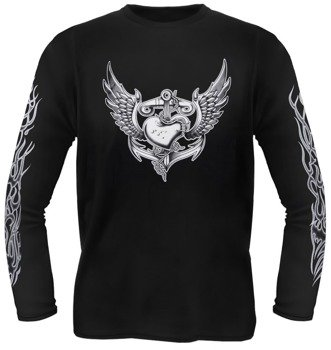 longsleeve HEART ON ANCHOR