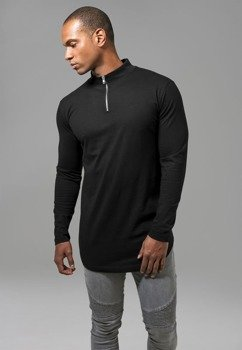 longsleeve LONG SHAPED TURTLE ZIP