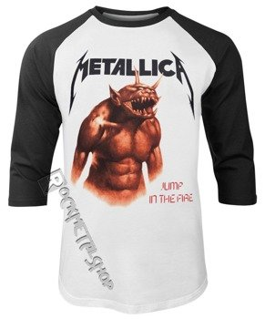longsleeve METALLICA – JUMP IN THE FIRE, rękaw 3/4