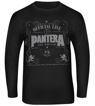 longsleeve PANTERA - OFFICIAL LIVE 101 PROOF