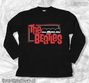 longsleeve THE BEATLES - RED LOGO