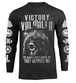 longsleeve VICTORY OR VALHALLA - MY GODS...