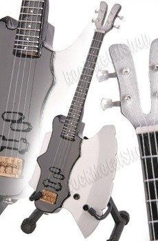 miniaturka gitary KISS - GENE SIMMONS: AXE-BASS (MP112)