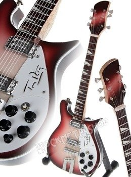 miniaturka gitary TOM PETTY AND THE HEARTBREAKERS: RICKENBACKER LIMITED