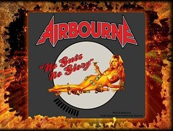 naklejka AIRBOURNE - BLONDE
