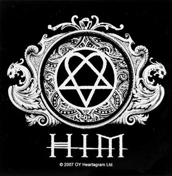 naklejka HIM - HEARTAGRAM