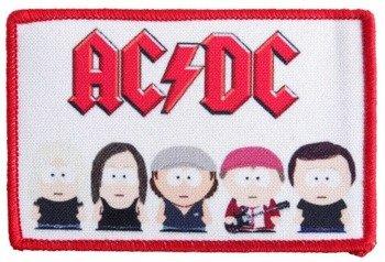 naszywka AC/DC - SOUTH PARK