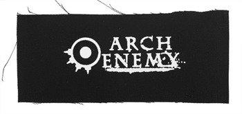 naszywka ARCH ENEMY - LOGO 2 WHITE
