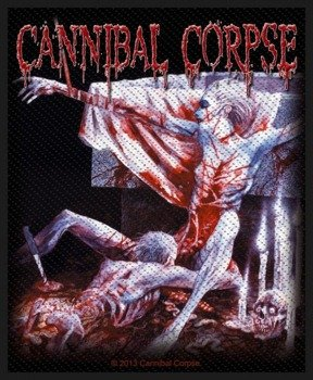 naszywka CANNIBAL CORPSE - TOMB OF THE MUTILATED