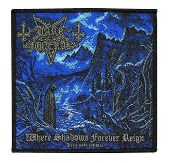 naszywka DARK FUNERAL - WHERE SHADOWS FOREVER REIGN