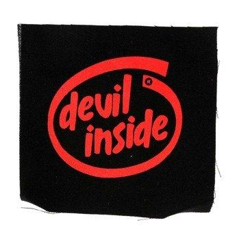 naszywka DEVIL INSIDE RED