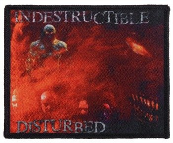 naszywka DISTURBED - INDESTRUCTIBLE