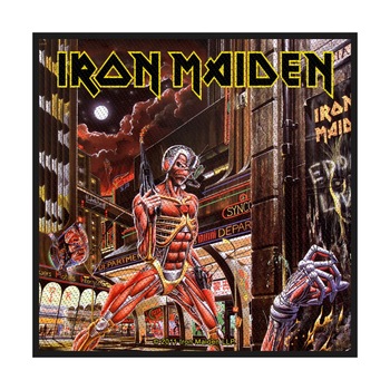 naszywka IRON MAIDEN - SOMEWHERE IN TIME
