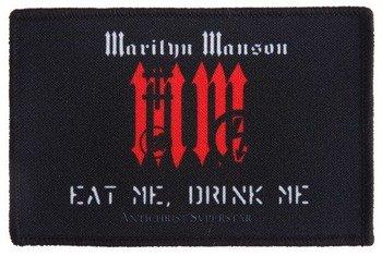 naszywka MARILYN MANSON - EAT ME, DRINK ME