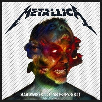 naszywka METALLICA - HARDWIRED TO SELF DESTRUCT