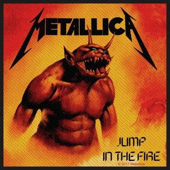 naszywka METALLICA - JUMP IN THE FIRE