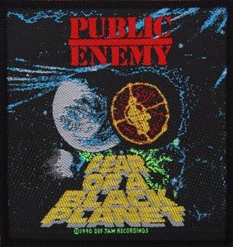 naszywka PUBLIC ENEMY - FEAR OF A BLACK PLANET