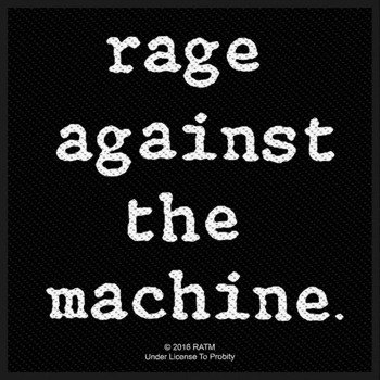 naszywka RAGE AGAINST THE MACHINE - LOGO