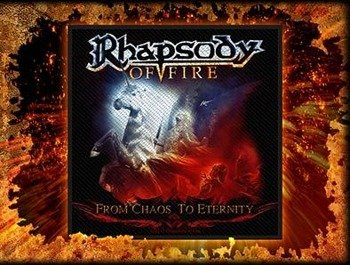 naszywka RHAPSODY OF FIRE - FROM CHAOS TO ETERNITY