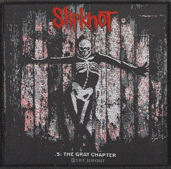 naszywka SLIPKNOT - THE GRAY CHAPTER