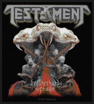 naszywka TESTAMENT - BORTHERHOOD OF THE SNAKE