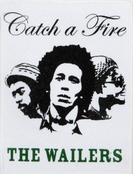 naszywka THE WAILERS‎ - CATCH A FIRE