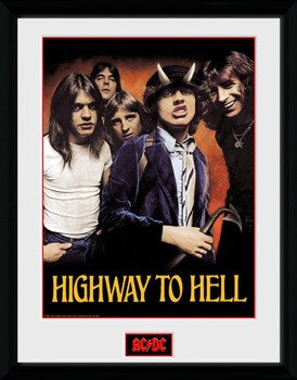 obraz w ramie AC/DC - HIGHWAY TO HELL