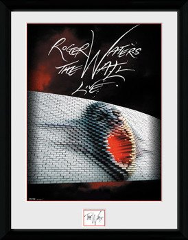 obraz w ramie PINK FLOYD - THE WALL TOUR POSTER