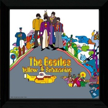 obraz w ramie THE BEATLES - YELLOW SUBMARINE