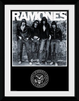 obraz w ramie THE RAMONES - ALBUM
