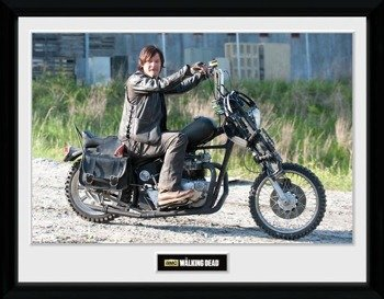 obraz w ramie THE WALKING DEAD - DARYL BIKE