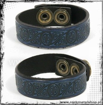 opaska napa 16mm TRIBAL blue