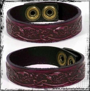 opaska napa 16mm TRIBAL red
