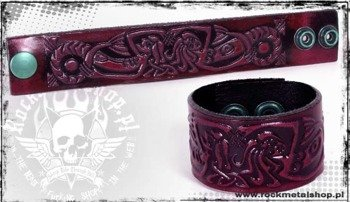 opaska napa 32mm TRIBAL red