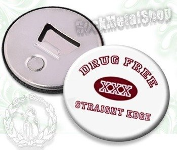 otwieracz do piwa DRUG FREE STRAIGHT EDGE