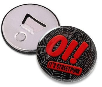 otwieracz do piwa OI! - IT'S STREET PUNK