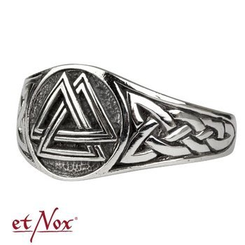 pierścień WOTAN NODE, srebro 925