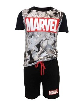 piżama AVENGERS - BIG MARVEL LOGO MALE SHORTAMA