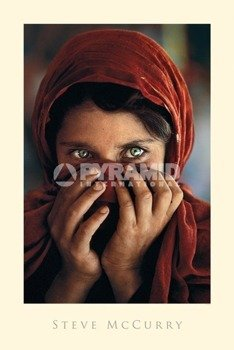 plakat AFGHAN GIRL (STEVE MC.CURRY)